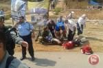 Wounded 14yr old Hamed Omar al-Masri