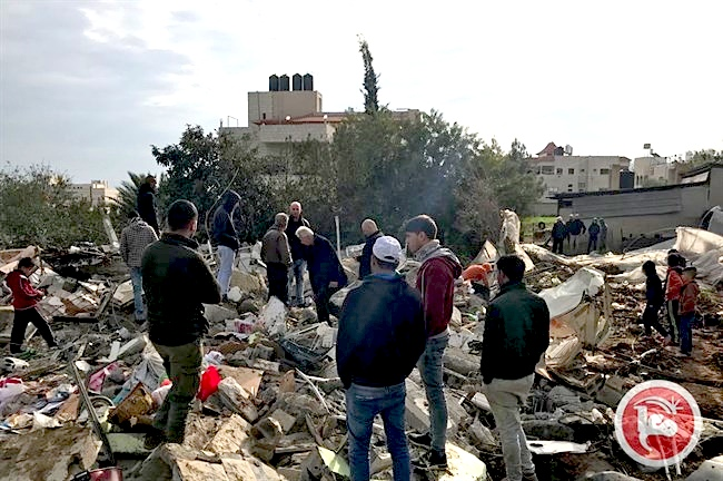 Jenin Jarrar houses demolished
