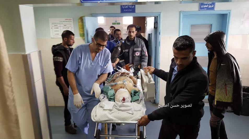 Teen shot in head in Gaza - in hospital