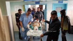 Teen shot in head in Gaza - in hospital