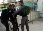 3yr old held by IOF s