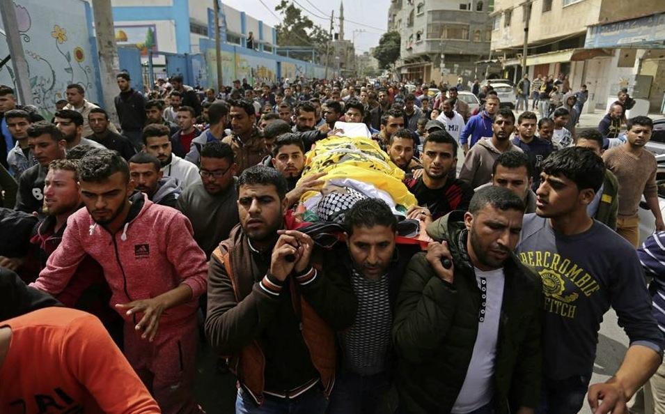 Beerdigung Ismail Abu Reyala 02