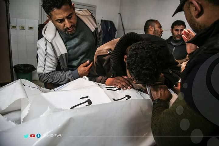 Gaza Fischer Ismail Abu Riyala Leiche rausgegeben 01