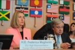 Mogherini at UNRWA conference