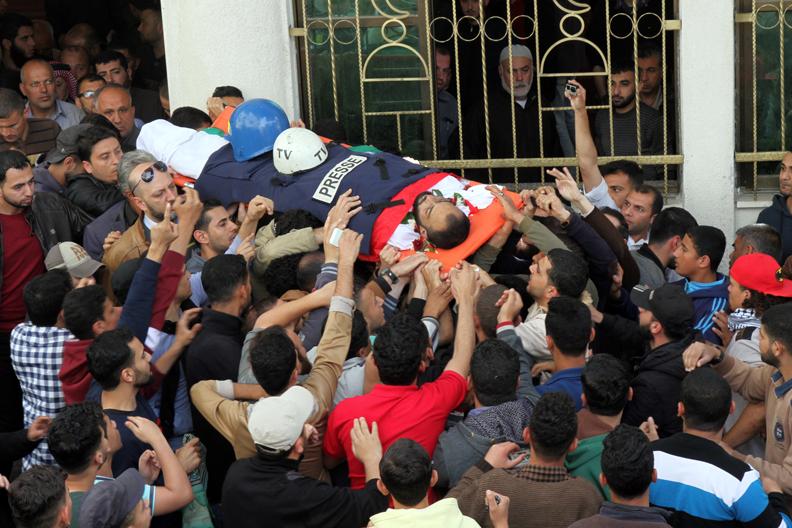 Abu Hussein funeral