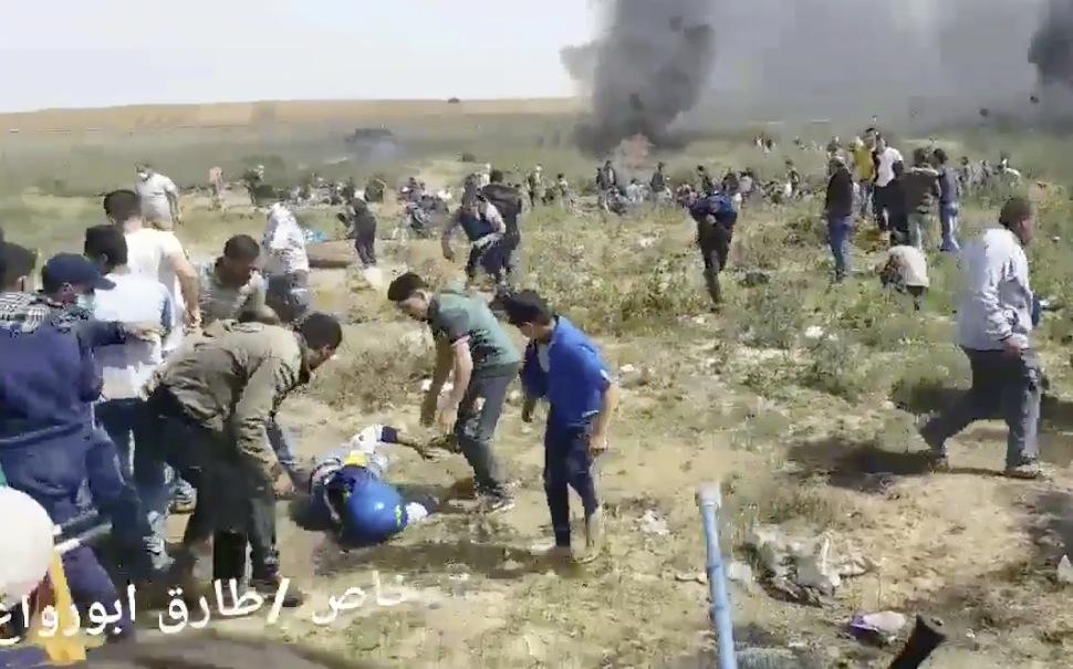 Abu Hussein shot