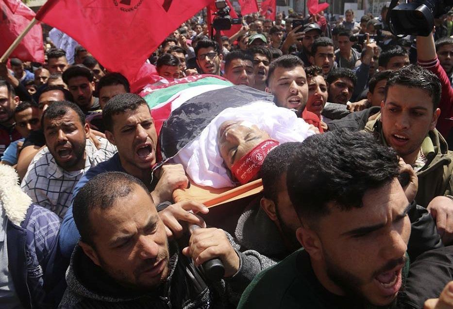 Beerdigung in Gaza