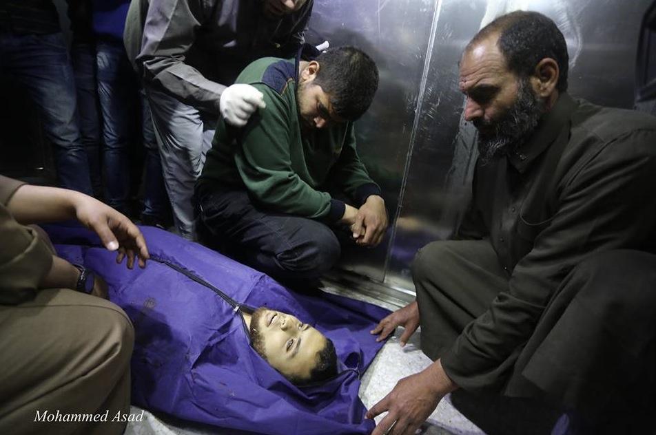 Mujahid al-Khodari (23) dead