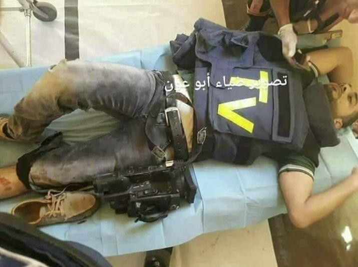 15 journalisten beschossen inkl Al Jazeera Korrespondent