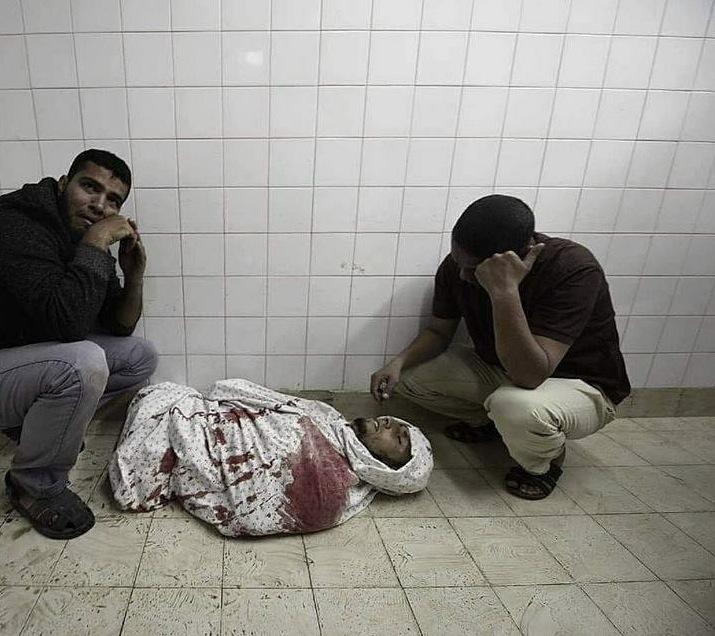 Amputee Fadi Abu Salah morgue
