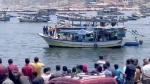 Auslaufen der Flotille