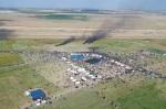 Gazaprotest von oben (Yaser Murtaja)