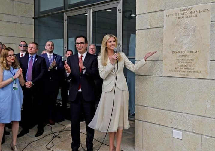 Ivanka photo opening embassy