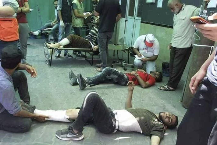 Krankenhaus Gaza 01