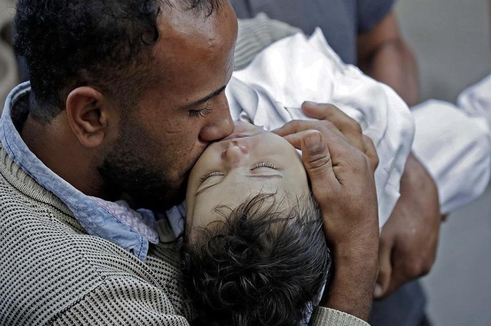 Laila Anwar Ghandours Vater nimmt Abschied