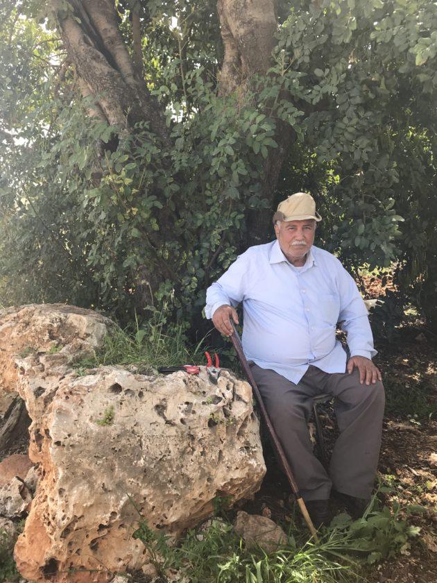 Farmer Anwar Abu Khalil