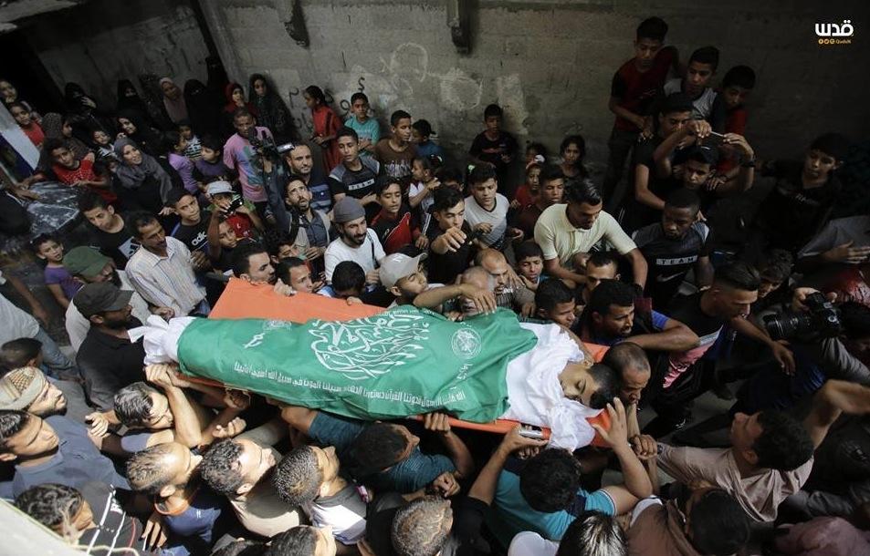 funeral procession of slain Abdul-Fattah Azoum, 17