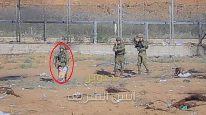 IDF shoot and kidnap you on Gaza ground 01