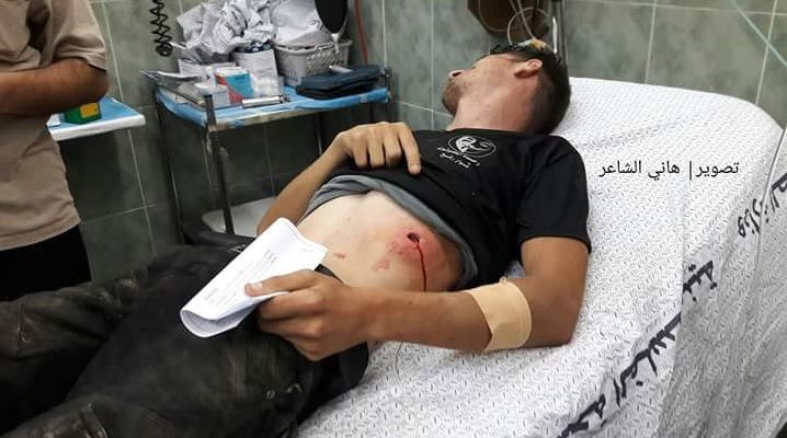 Young Pal shot 27.06. in Gaza by IDF