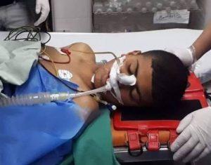 Bilal Mahmoud Najjar wounded