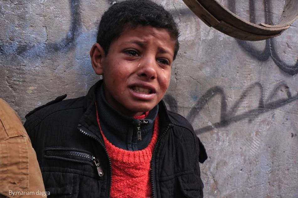 Bruder von Belal Najjar (17) in Tränen
