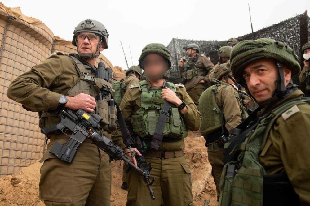 IDF Oberbefehlshaber vor Gaza