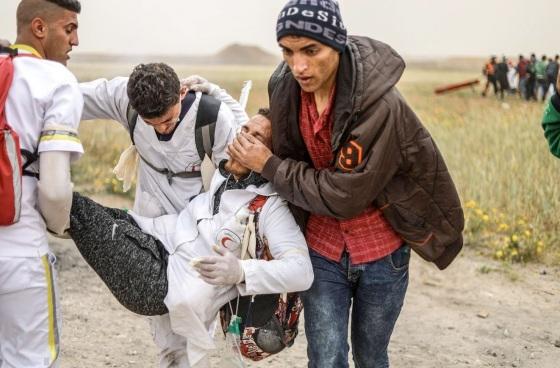Verletzter Sanitäter Abstransport quds
